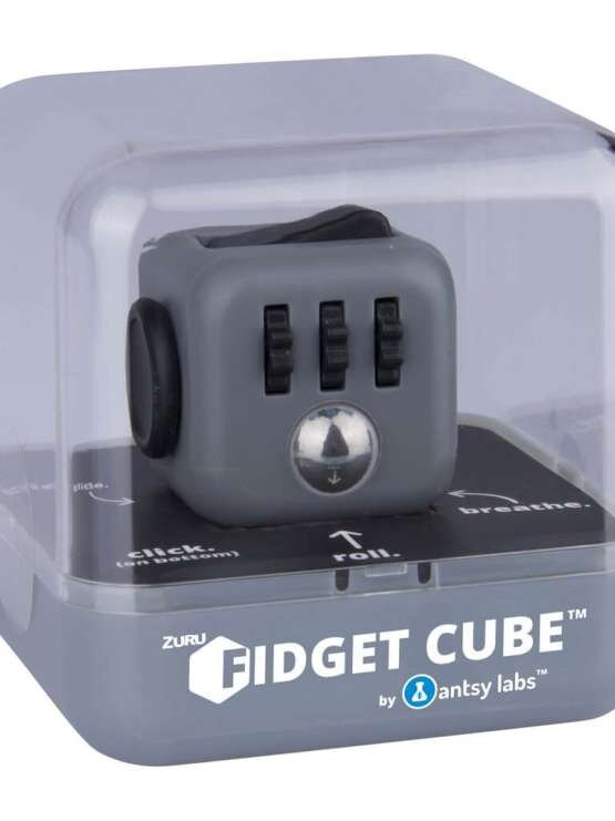 antsy labs fidget cube graphite i emballage viccadk